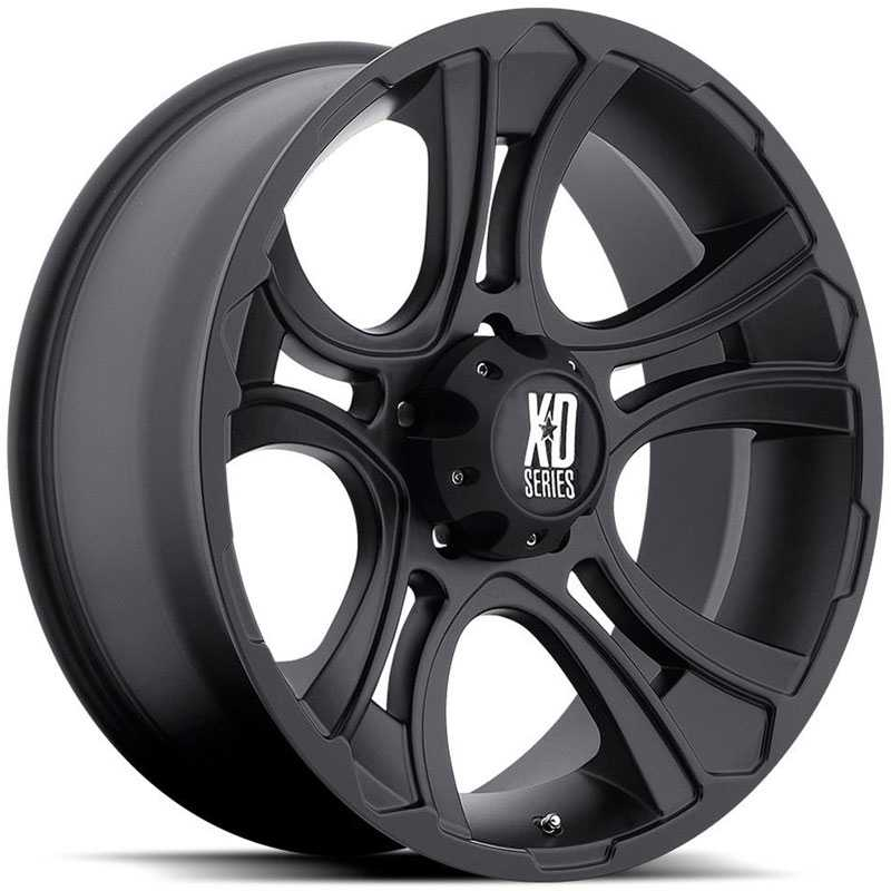 KMC 801 XD Series Crank  Wheels Matte Black