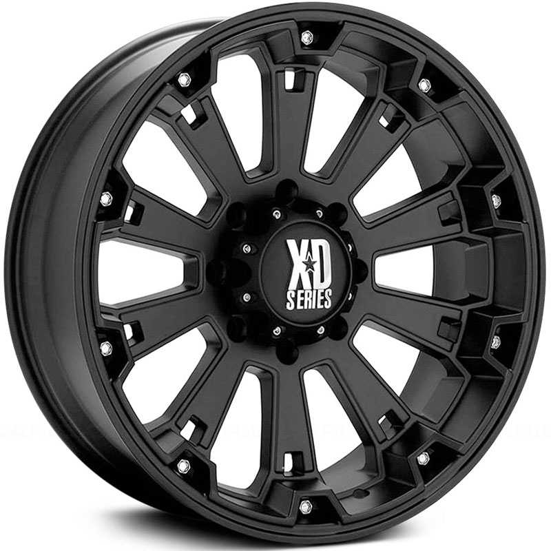 KMC 800 XD Series Misfit  Wheels Matte Black
