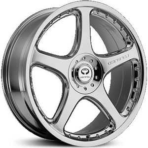 Lorenzo 028  Wheels Chrome