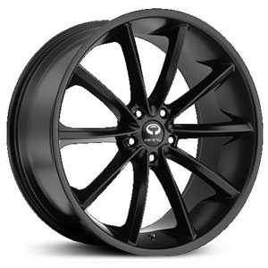Lorenzo 032  Wheels Satin Black