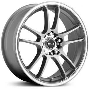 MSR 043  Wheels Silver