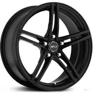 MSR 048  Wheels Black