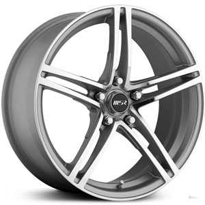 MSR 048  Wheels Silver