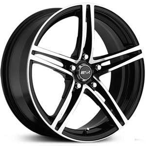 MSR 048  Wheels Super Finish Black