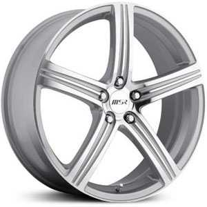 MSR 052  Wheels Super Finish Silver