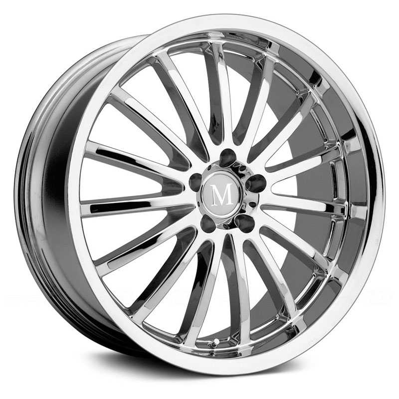 Mandrus Millenium  Wheels Chrome