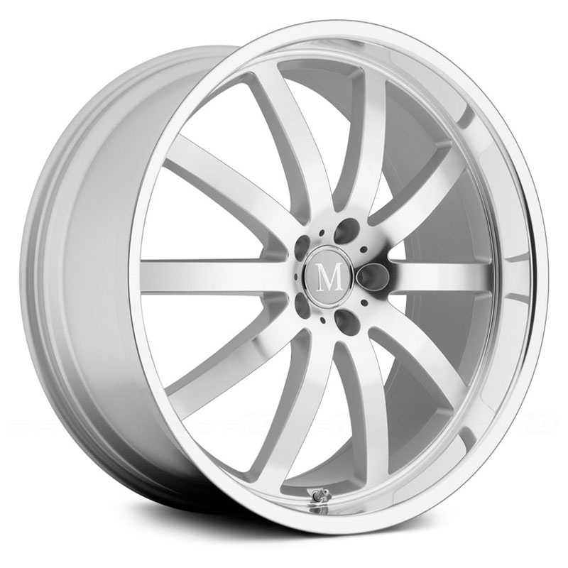 Mandrus Wilhelm  Wheels Silver w/ Mirror Cut Face & Lip