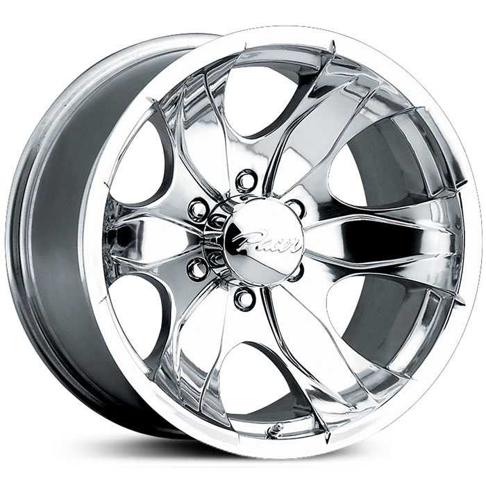 Pacer 187P Warrior  Wheels Polished