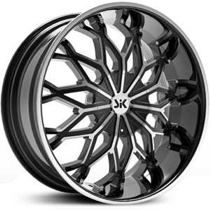 SIK 005  Wheels Black and Machined