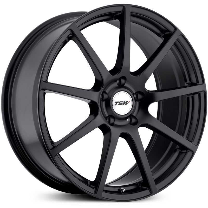TSW Interlagos  Rims Matte Black