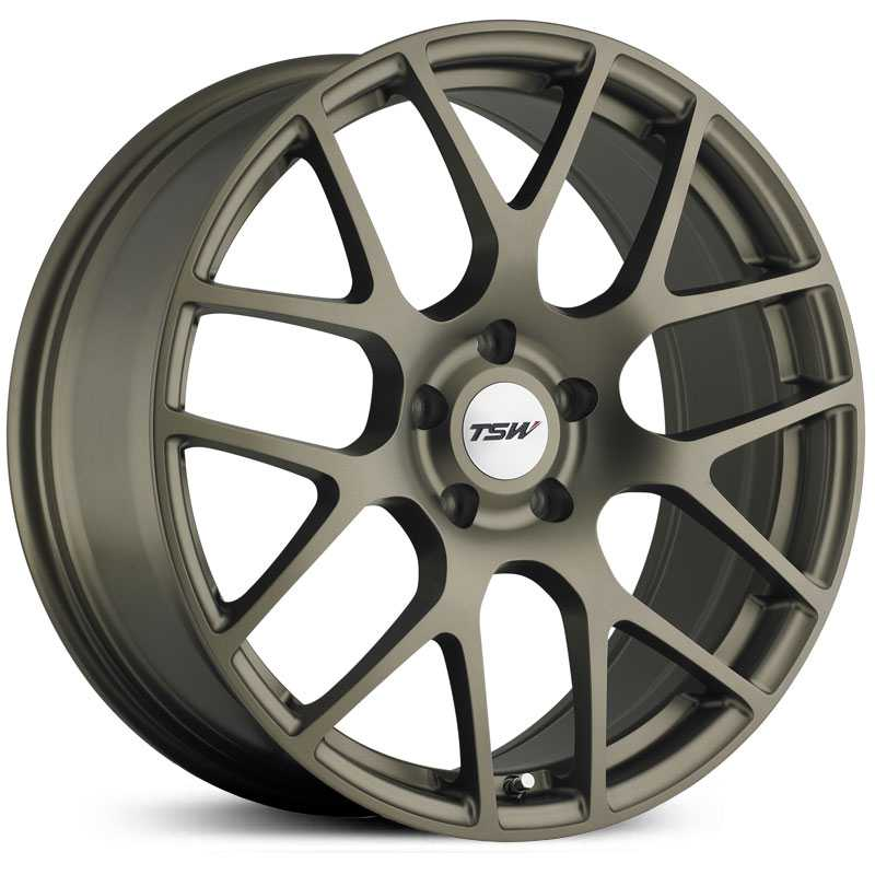 TSW Nurburgring  Wheels Matte Bronze