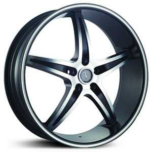 Velocity 925  Rims Gloss Black/Machined