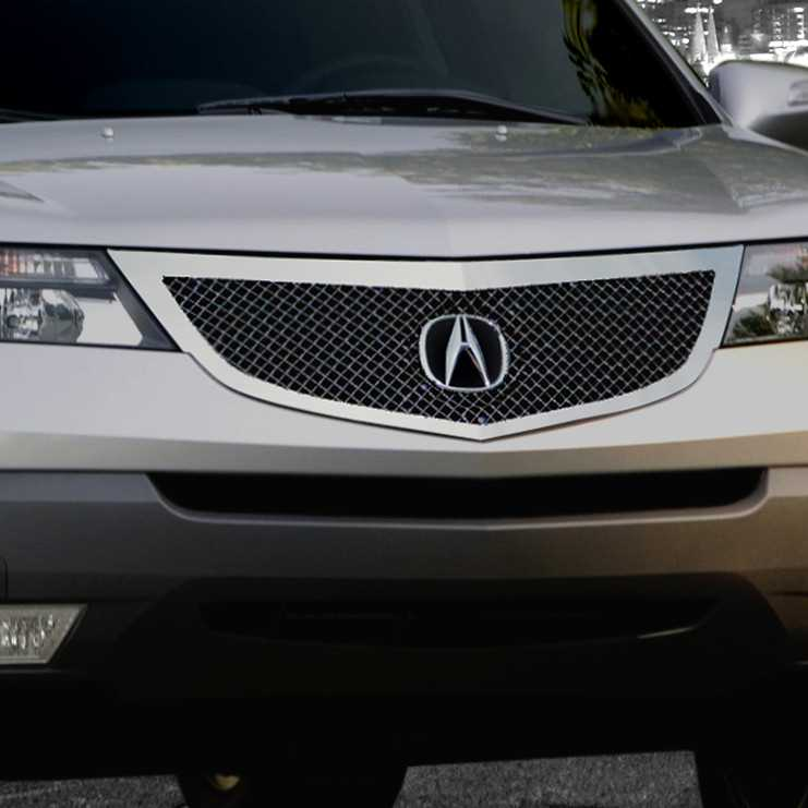 E&G Classics 2007-2009 Acura MDX Grille Heavy Mesh Black