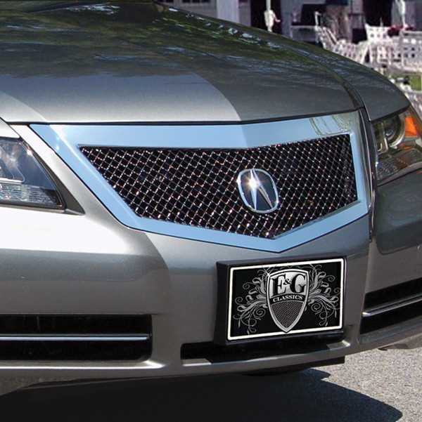 E&G Classics 2009-2010 Acura RL Grille Heavy Mesh Black