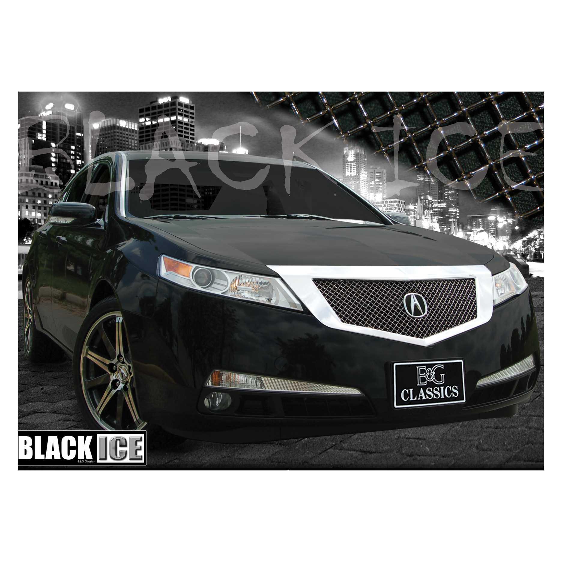 E&G Classics 2009-2011 Acura TL Grille Heavy Mesh Black