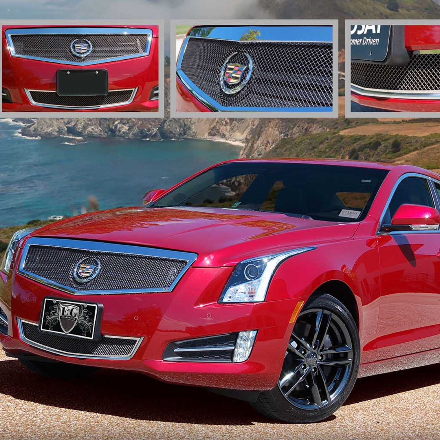 E&G Classics 2013-2014 Cadillac ATS Grille 2Pc Classic