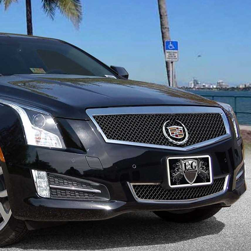 Cadillac Ats 2012: Cadillac Ats 2013 Chrome Heavy Mesh Grille Grill, For 2013
