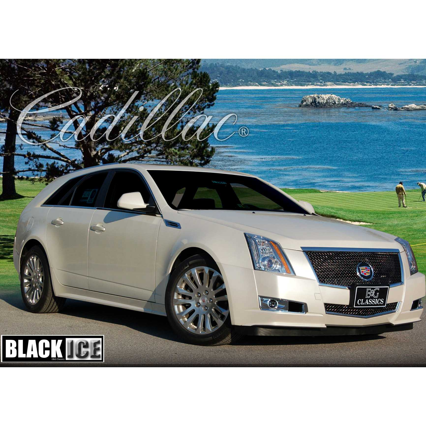 Cadillac Cts 2013 Price: E&G Classics 2008-2013 Cadillac CTS Grille 2Pc Classics Black Ice Heavy Mesh Grille