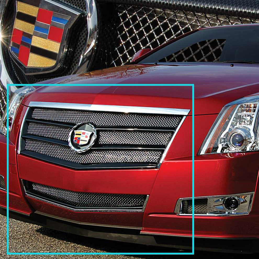 2013 Cadillac Cts Coupe >> E&G Classics 2008-2013 Cadillac CTS Grille 2Pc Egx Sport Fine Mesh Grille - Carbon Fiber Look ...
