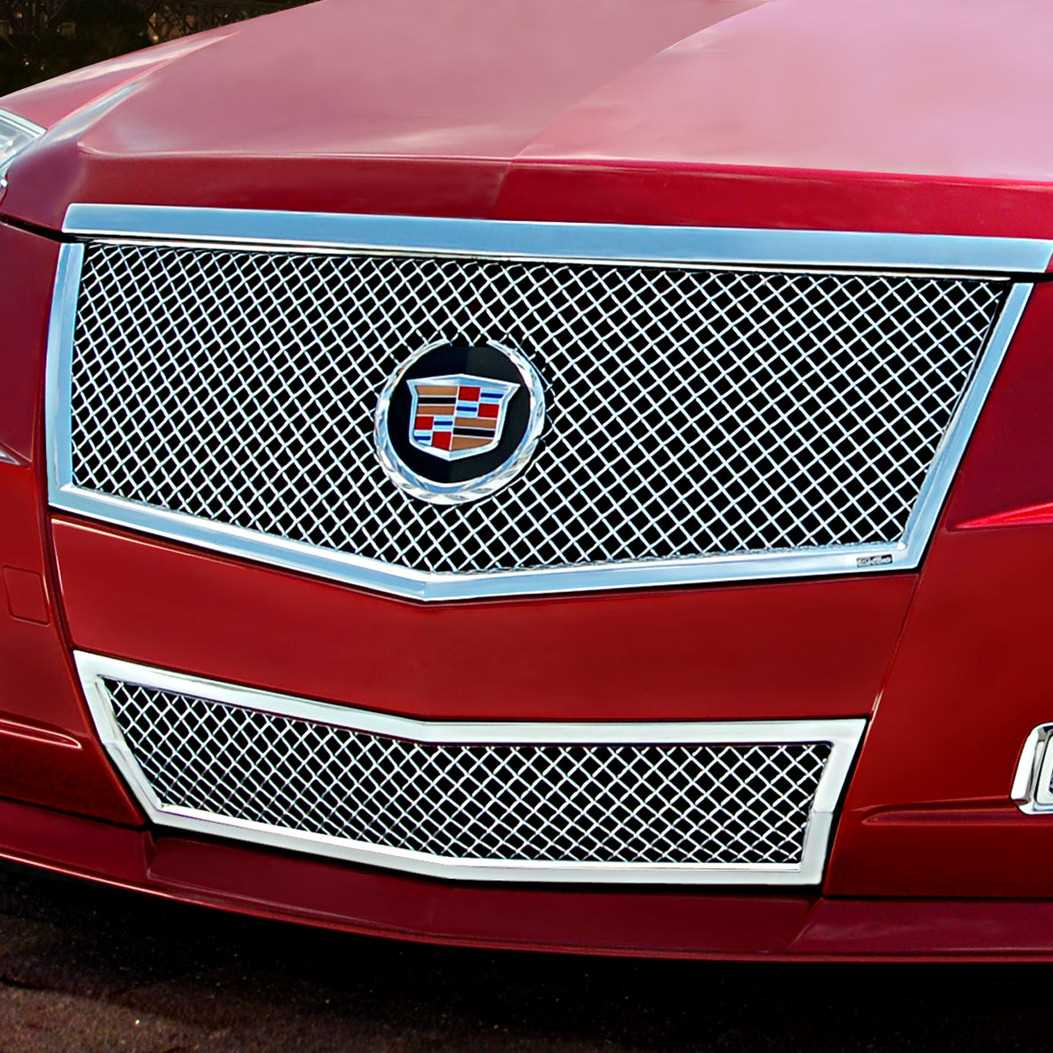 "Cadillac Cts 2013 Price: E&G Classics 2008-2013 Cadillac CTS Grille 2Pc ""E Series"" Heavy Mesh Grille"
