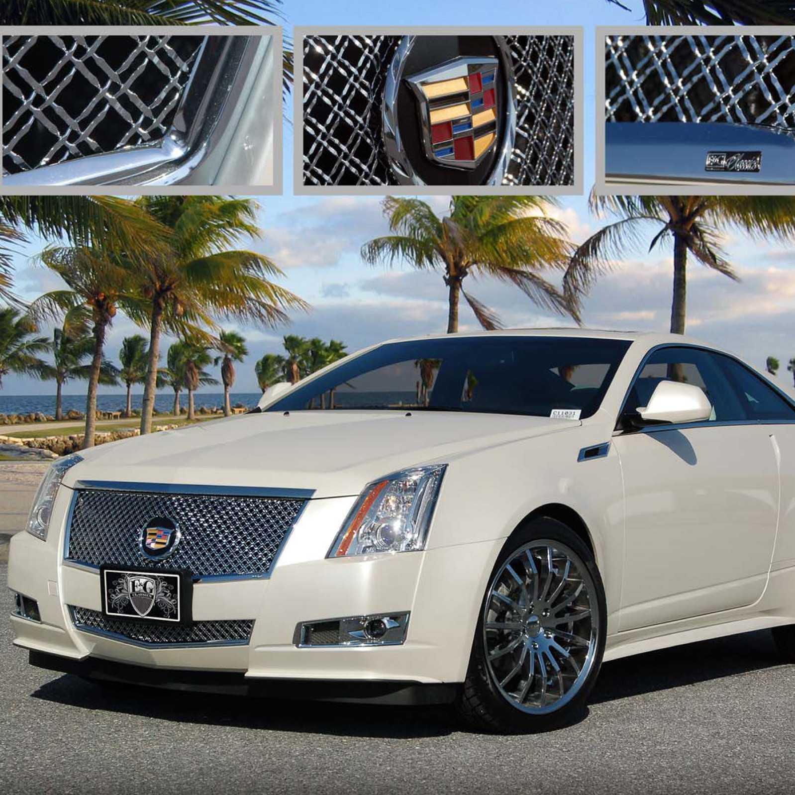 E&G Classics 2008-2013 Cadillac CTS Grille Classic Heavy