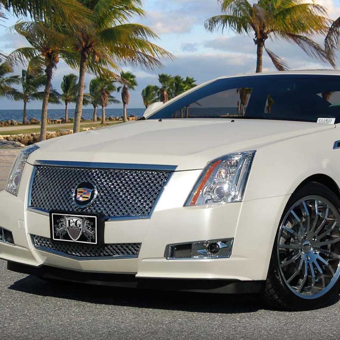 Who Makes Cadillac >> E&G Classics 2008-2013 Cadillac CTS Grille Classic Heavy ...