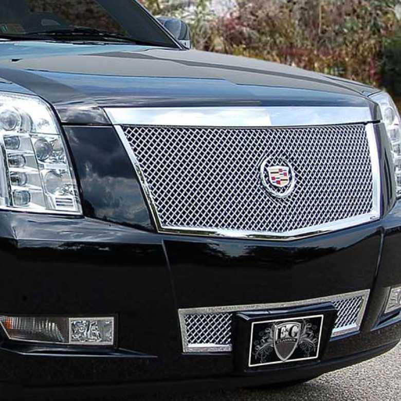 E&G Classics 2008-2014 Cadillac Escalade Grille 2Pc Heavy