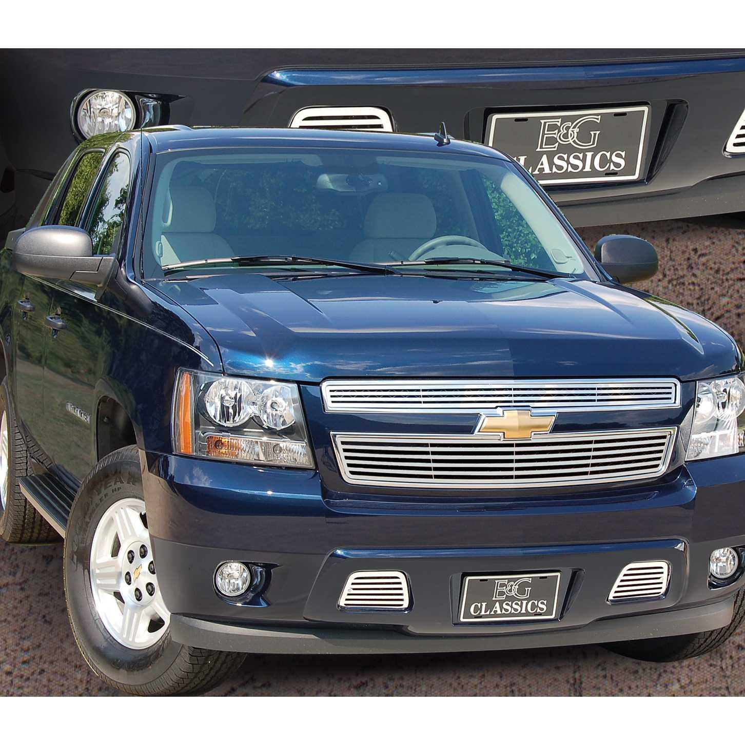 "E&G Classics 2007-2014 Chevrolet Tahoe Grille 2Pc ""Q"
