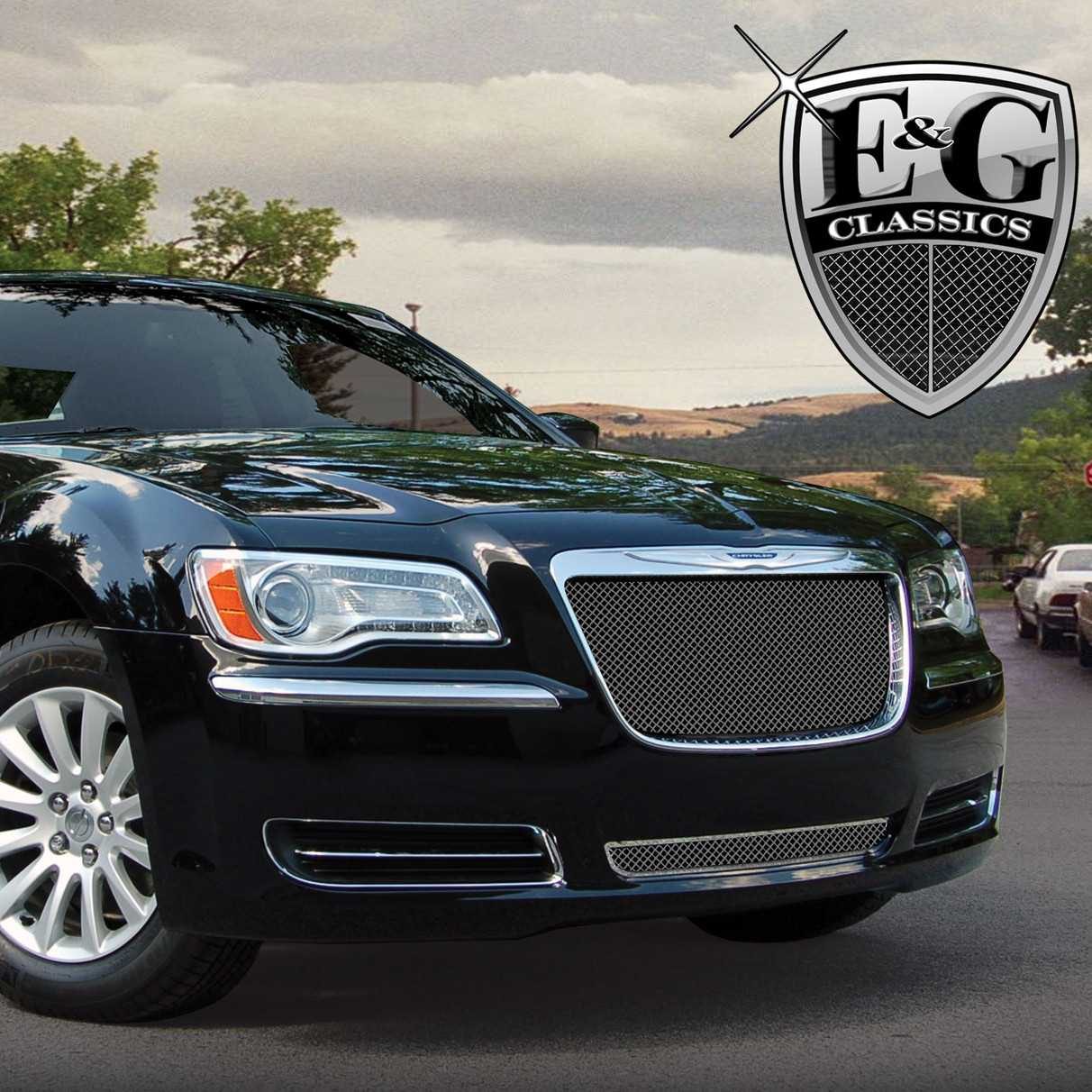 Chrysler E And G Black Ice Fine Mesh Grille B Pic
