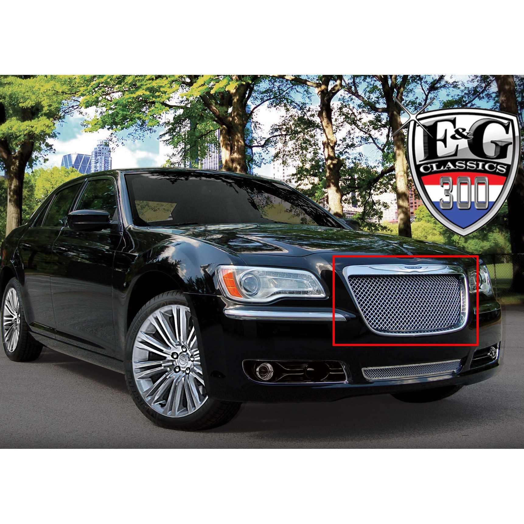 E&G Classics 2011-2014 Chrysler 300 Grille Heavy Mesh
