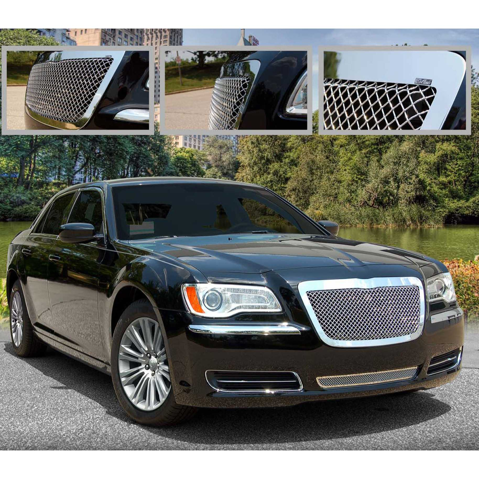 What do you think about those grilles? - Chrysler 300C ...  |Chrysler 300 Grills