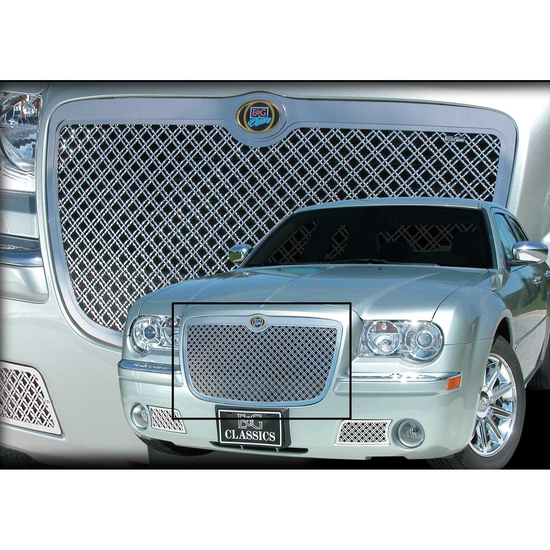 Chrysler 300C Heavy Mesh Upper Grille 1099 0104 05D