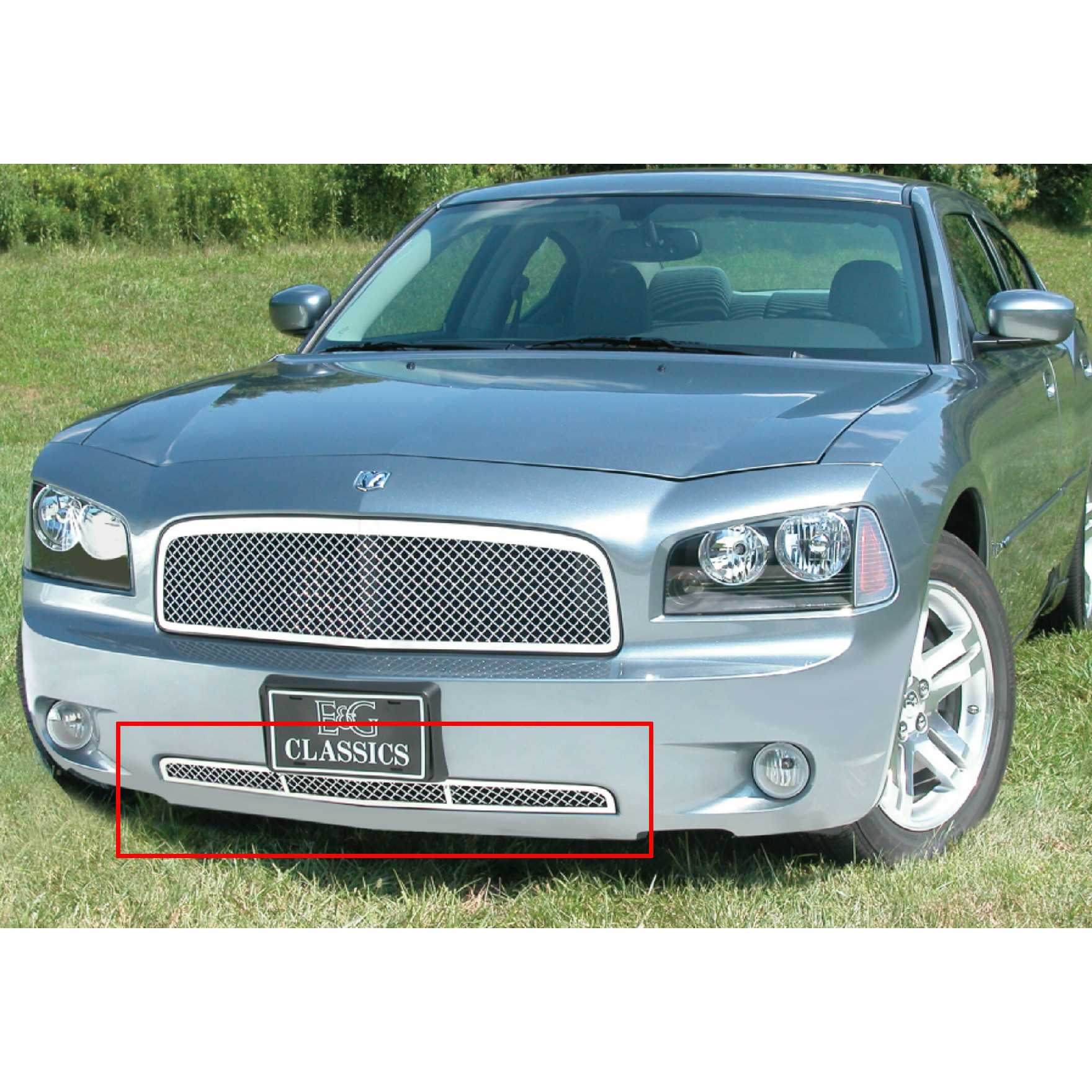 E&G Classics 2006-2010 Dodge Charger Mesh Lower Grill 1350-010L-06