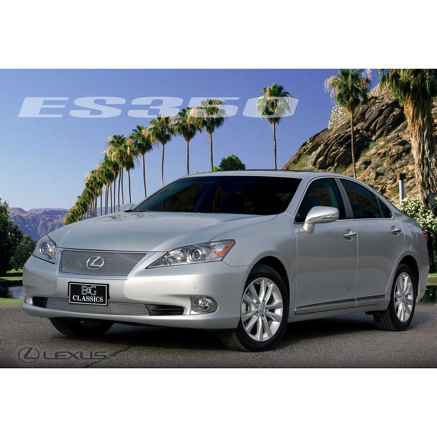 e g classics 2010 2012 lexus es 350 grille 2pc fine mesh. Black Bedroom Furniture Sets. Home Design Ideas