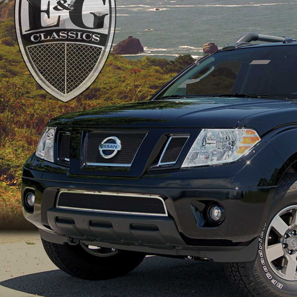 Hubcap Tire And Wheel >> E&G Classics 2009-2015 Nissan Frontier Grille 4 Pc Fine ...