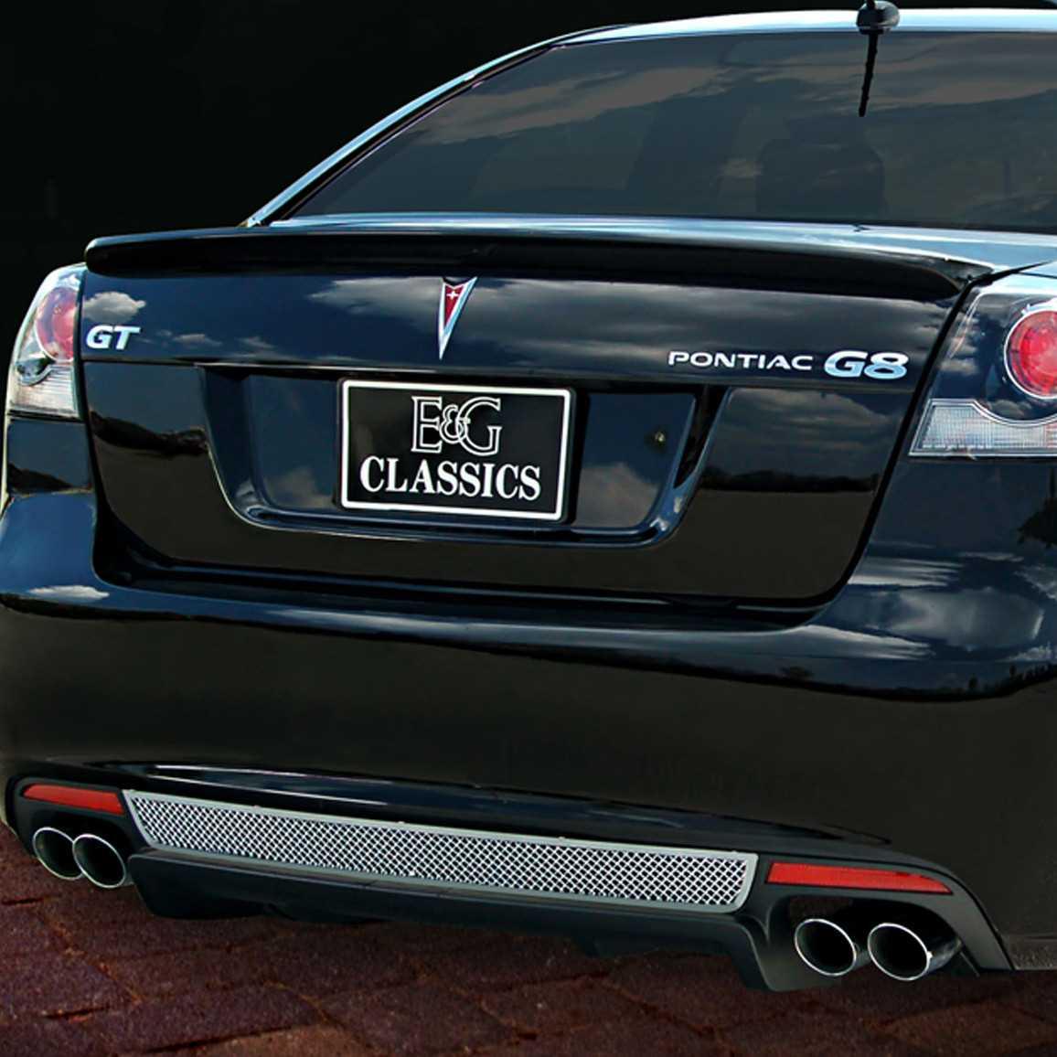 E Amp G Classics 2008 2009 Pontiac G8 Grille Rear Valance Mesh