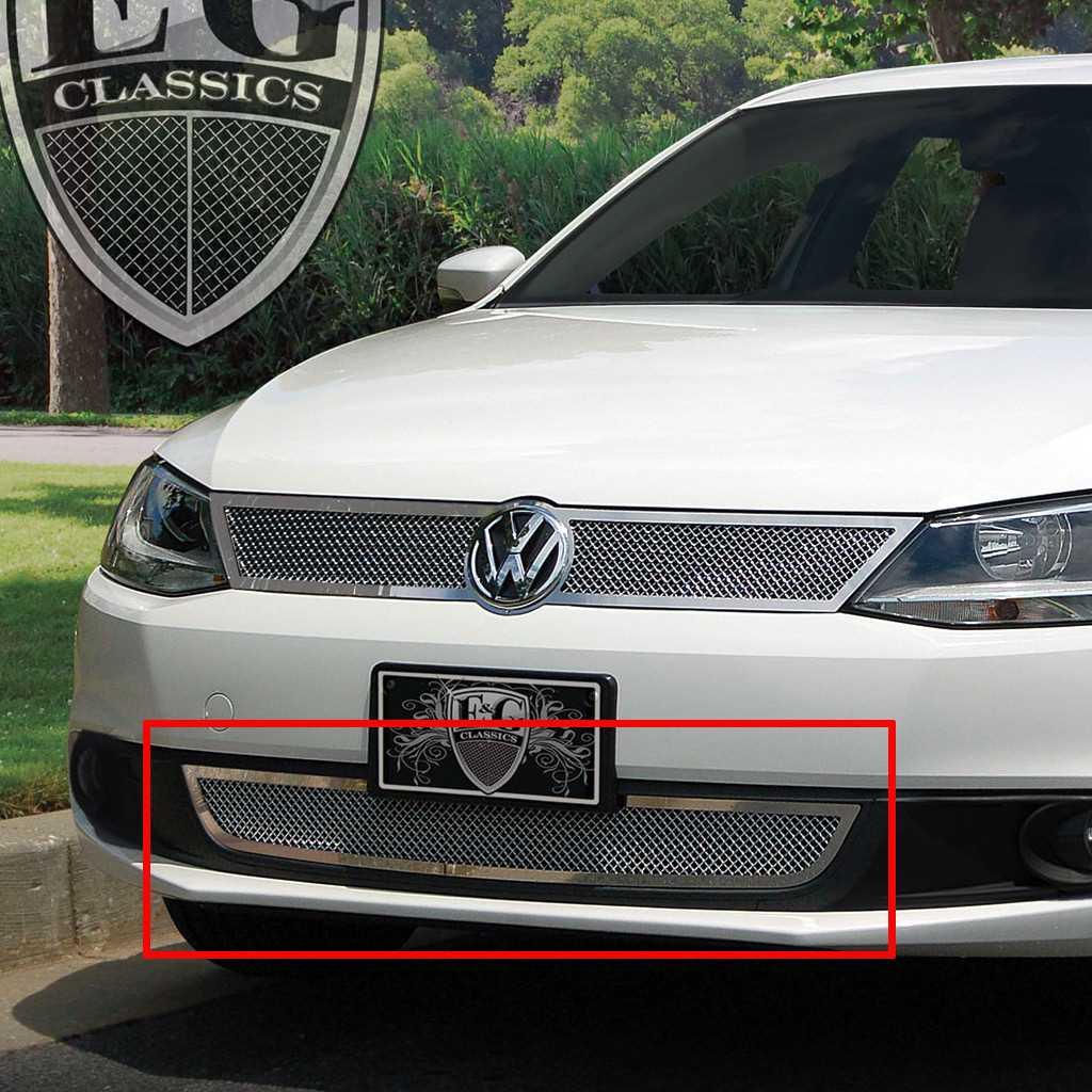 Volkswagen Jetta Price In Usa: E&G Classics 2011-2014 Volkswagen Jetta Grille Lower Fine