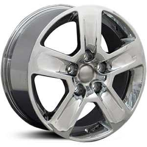 Audi A4 AU06  Wheels Chrome