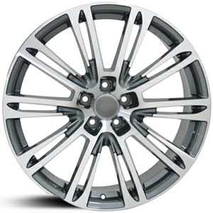 Audi A7 AU21  Wheels Gunmetal w/Machined Face