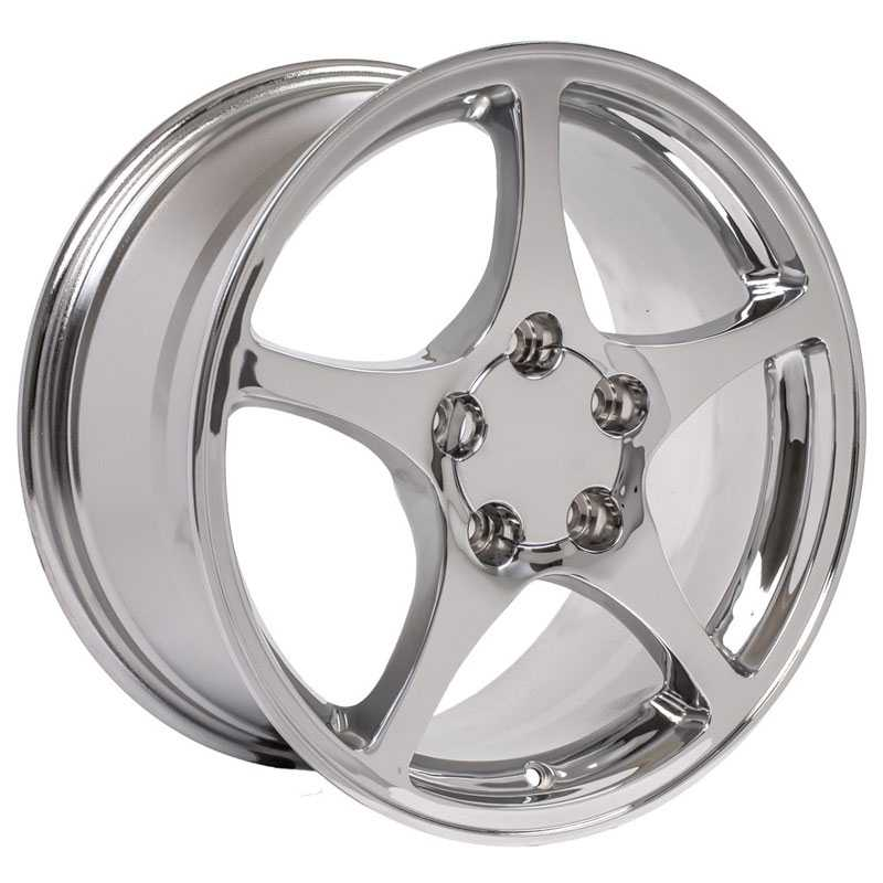 Chevy Corvette C5 CV05  Wheels Chrome