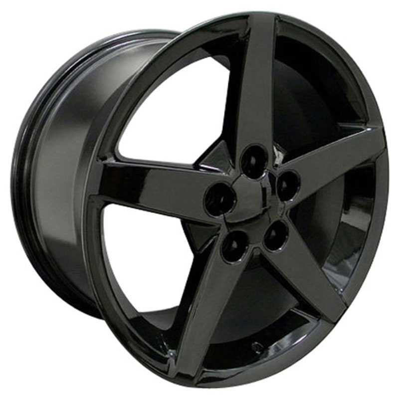Chevy Corvette C6 CV06  Rims Black