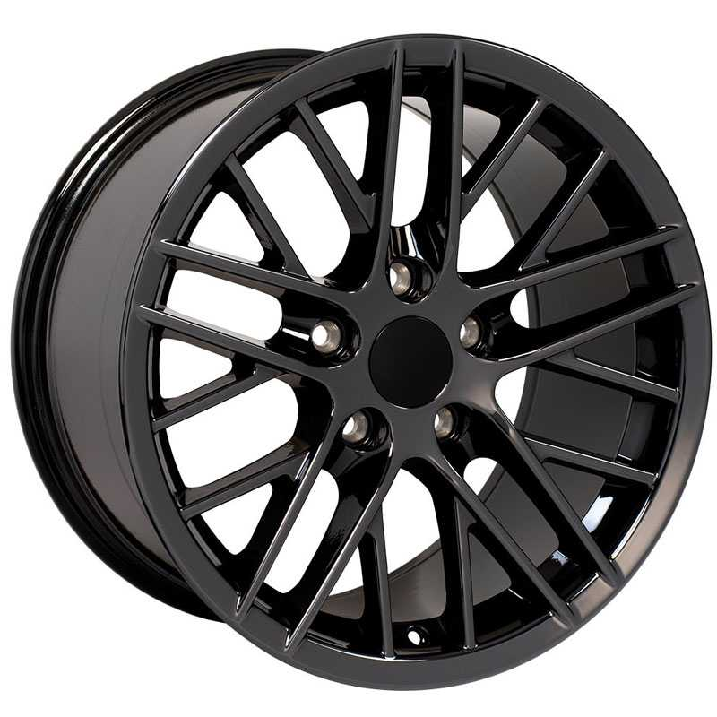 Chevy Corvette C6 ZR1 CV08  Wheels Black
