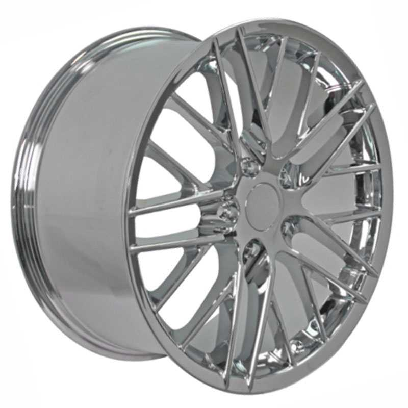 Chevy Corvette C6 ZR1 CV08  Rims Chrome
