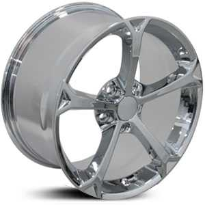 Chevy Corvette Grand Sport CV12  Rims Chrome