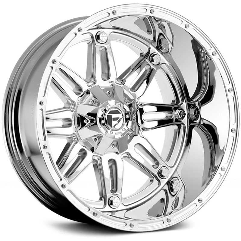 17x9 Fuel Offroad D530 Hostage Chrome REV