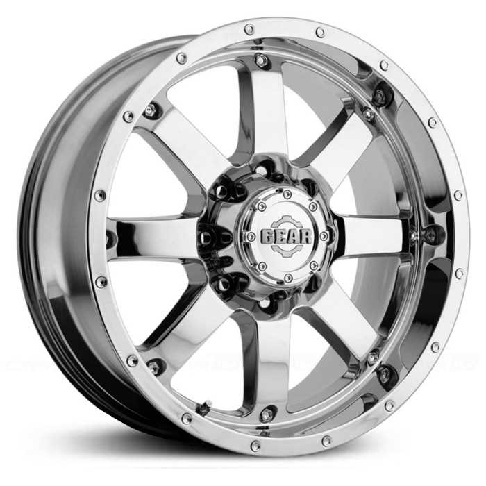 Gear Alloy Big Block 726C  Wheels Chrome