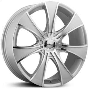 Helo HE874  Rims Dark Silver W/ Machined Face