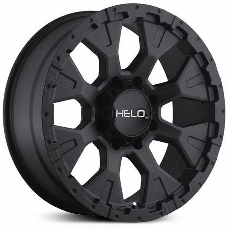 Helo HE878  Wheels Satin Black
