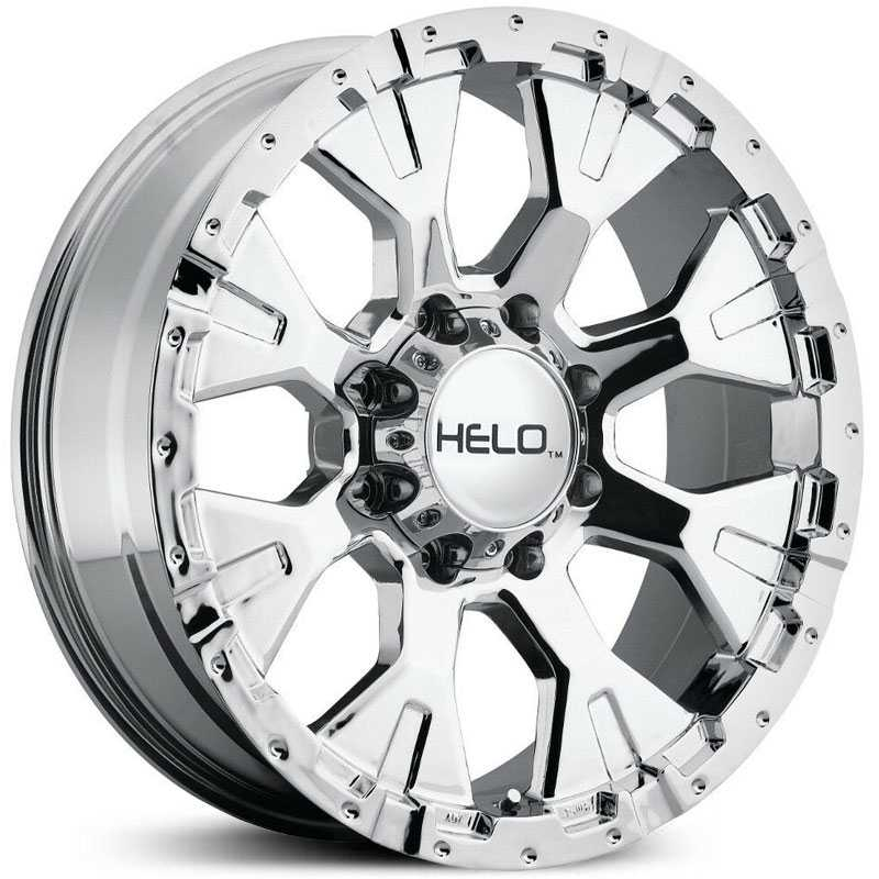 Helo HE878  Rims Chrome