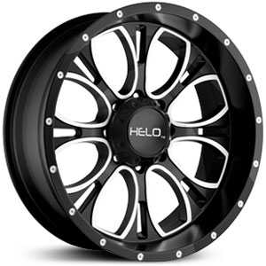 Helo HE879  Wheels Gloss Black Milled